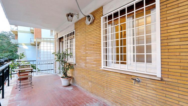 Terrace at Rodriguez Pereira Apartment - Citybase Apartments