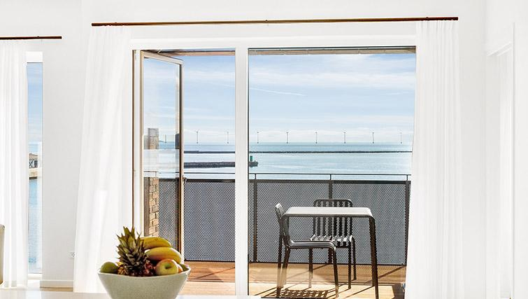 Stunning balcony at Stay Seaport Apartments - Citybase Apartments