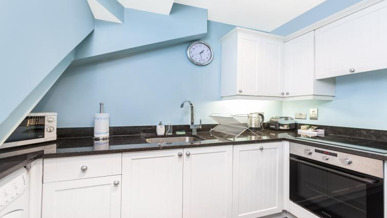 Kitchen at the Paddington Hyde Park Apartments - Citybase Apartments