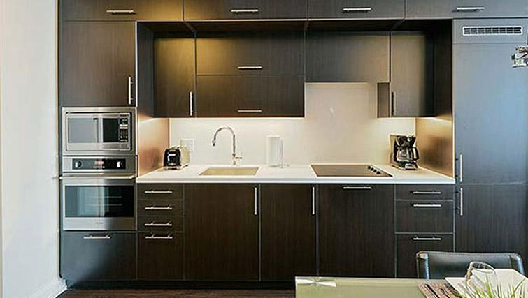 Kitchen at Hullmark Apartments - Citybase Apartments