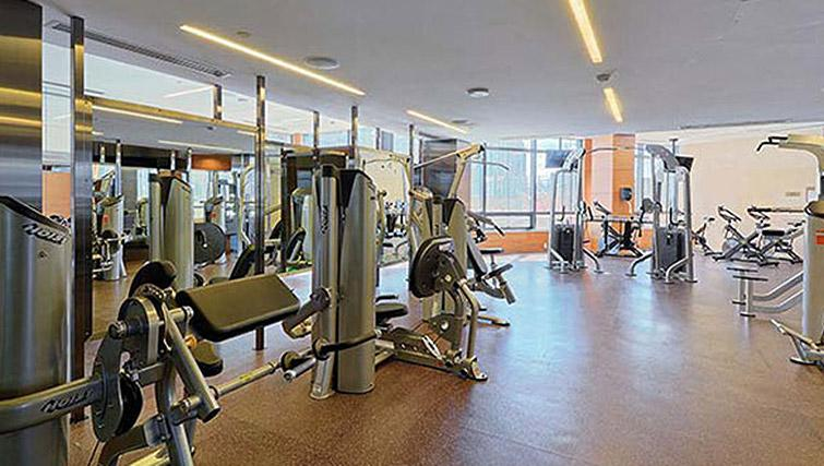 Fitness centre at Hullmark Apartments - Citybase Apartments