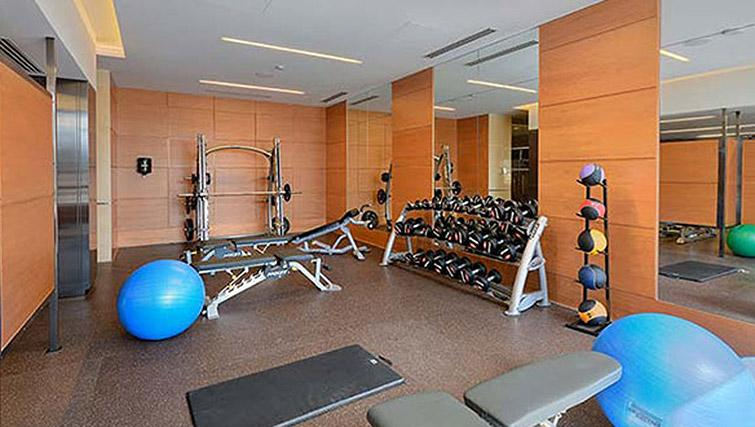 Fitness room at Hullmark Apartments - Citybase Apartments