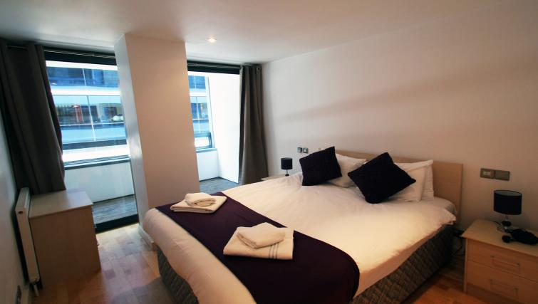 Bedroom at Saffron Hill - Citybase Apartments