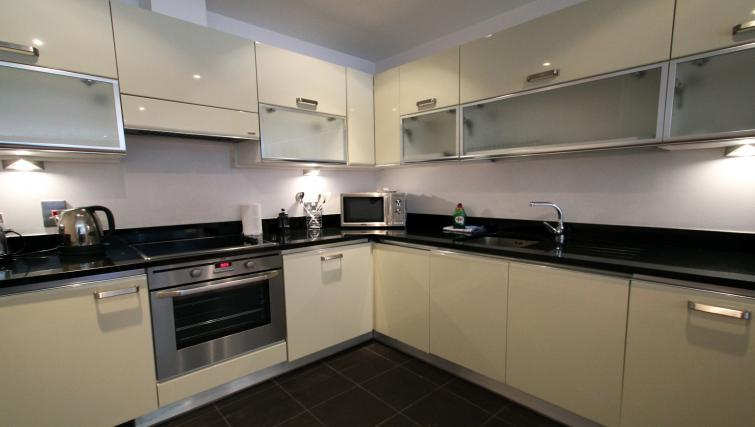 Kitchen at Saffron Hill - Citybase Apartments