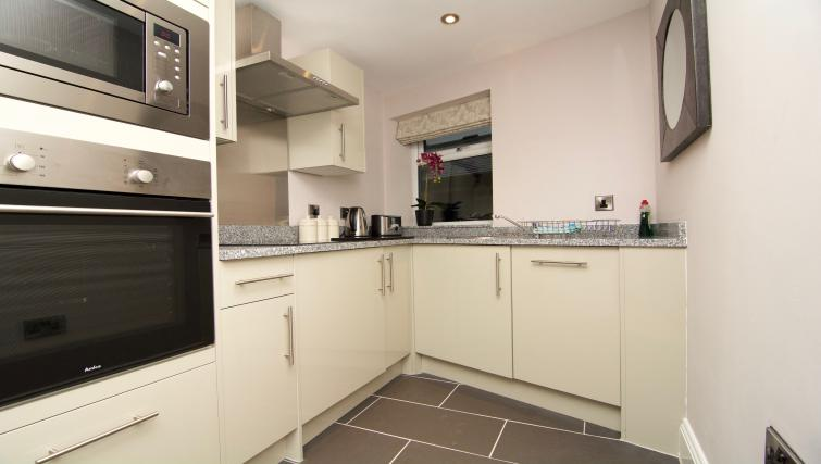 Fully equipped kitchen at Harrogate Lifestyle Apartments - Citybase Apartments