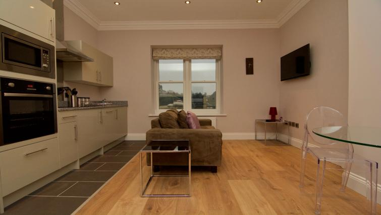 Dining area at Harrogate Lifestyle Apartments - Citybase Apartments