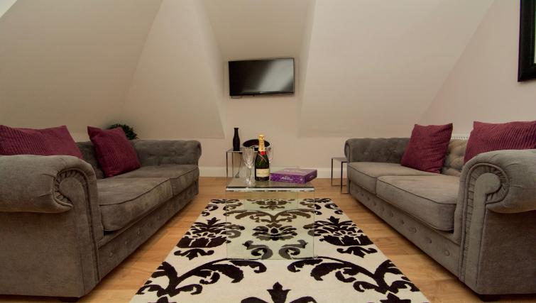 Ideal living area at Harrogate Lifestyle Apartments - Citybase Apartments