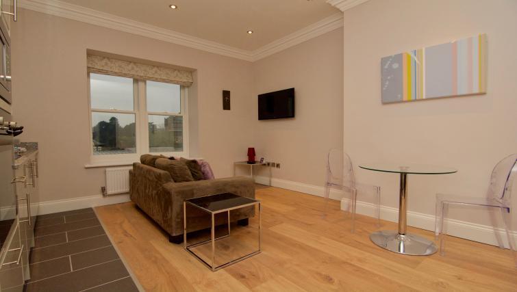 Wooden flooring at Harrogate Lifestyle Apartments - Citybase Apartments