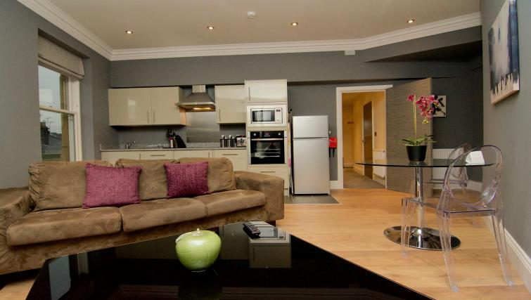 Living space at Harrogate Lifestyle Apartments - Citybase Apartments