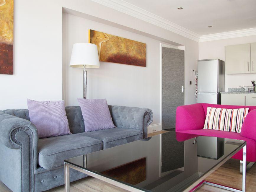 Lounge area at  Harrogate Lifestyle Apartments - Citybase Apartments