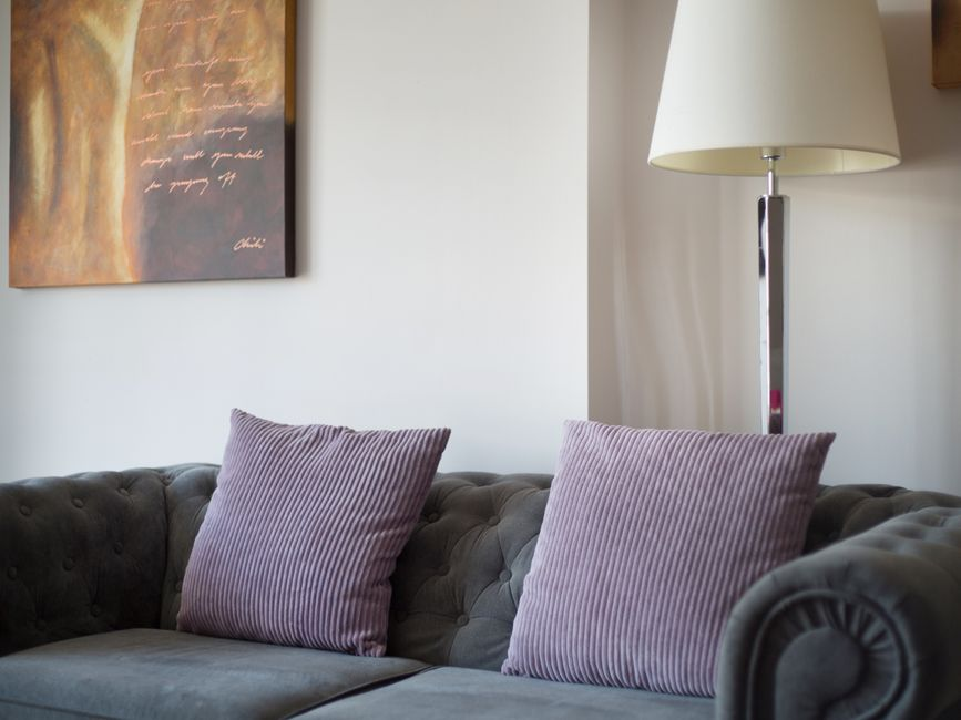 Sofa at  Harrogate Lifestyle Apartments - Citybase Apartments