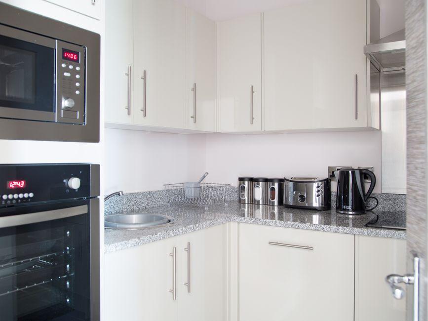 Kitchen facilitites at  Harrogate Lifestyle Apartments - Citybase Apartments