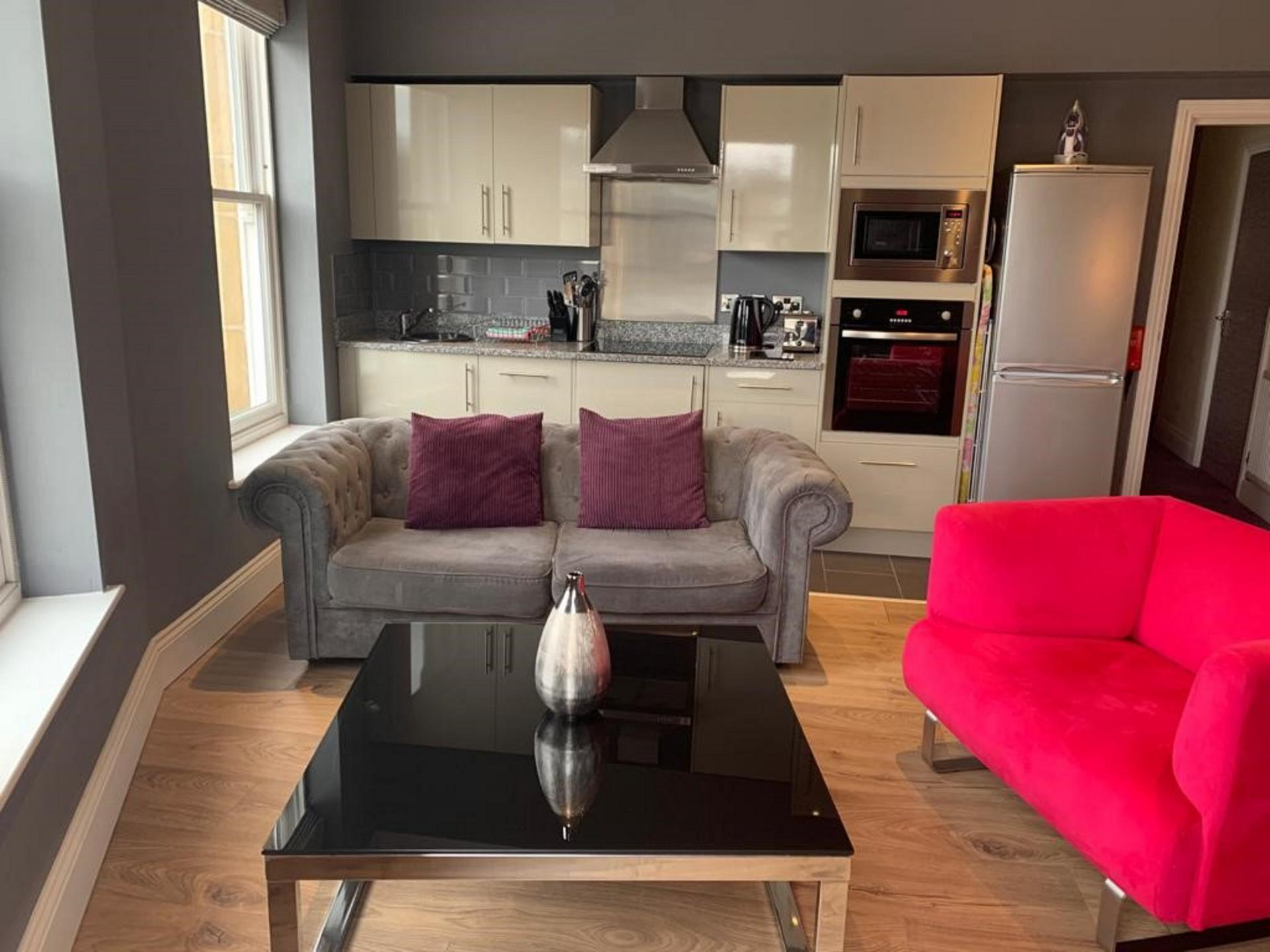 Seating at Harrogate Lifestyle Apartments - Citybase Apartments