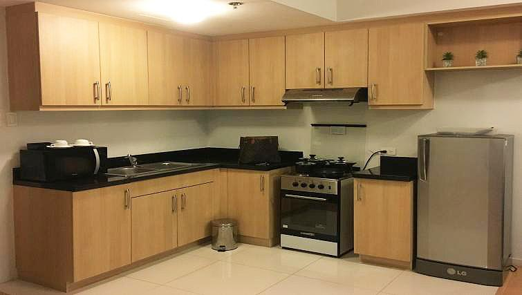 Kitchen at Avant Serviced Suites Personal Concierge - Citybase Apartments