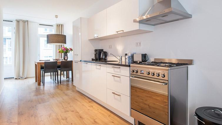Fully equipped kitchen at De Pijp Apartments, Amsterdam - Citybase Apartments