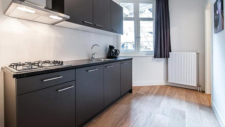 Kitchen at De Pijp Apartments, Amsterdam - Citybase Apartments