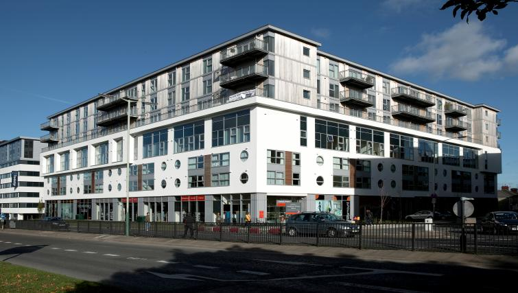 Exterior at The Paramount Swindon Apartments - Citybase Apartments