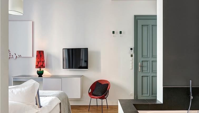 TV at Gorki Apartments - Citybase Apartments