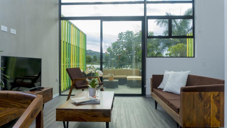 Living area at Arborea Apartments - Citybase Apartments