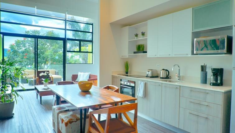 Dining area at Arborea Apartments - Citybase Apartments