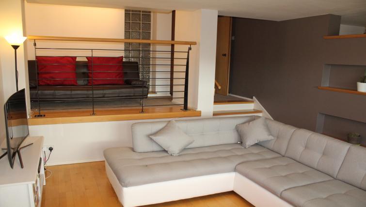 Sofa at Cutty Sark Apartment - Citybase Apartments