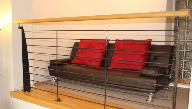 Mezzanine level at Cutty Sark Apartment - Citybase Apartments