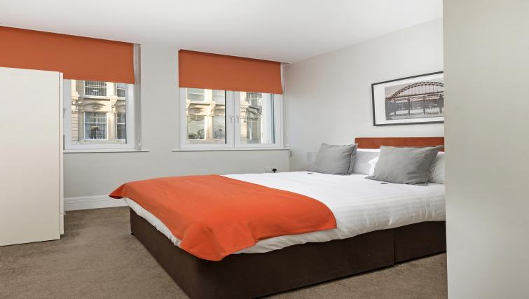 Bedroom at Dream Apartments at Bigg Market - Citybase Apartments