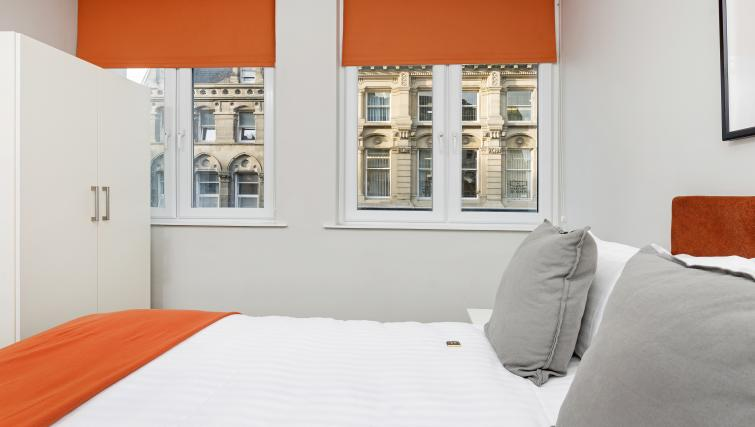 Bed at Dream Apartments at Bigg Market - Citybase Apartments