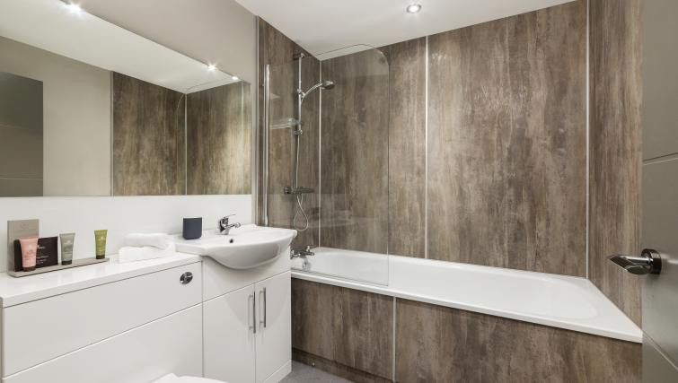 Bathroom at Dream Apartments at Bigg Market - Citybase Apartments