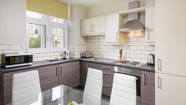 Kitchen at Dream Apartments at Bigg Market - Citybase Apartments