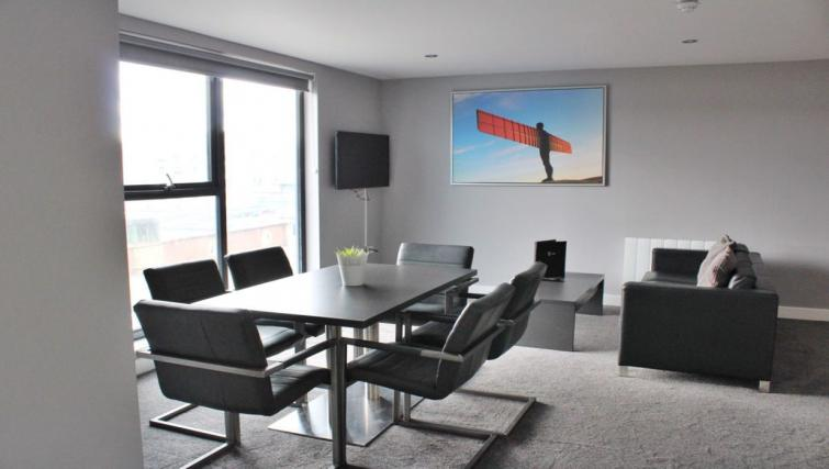 Living room at Dream Apartments Quayside - Citybase Apartments