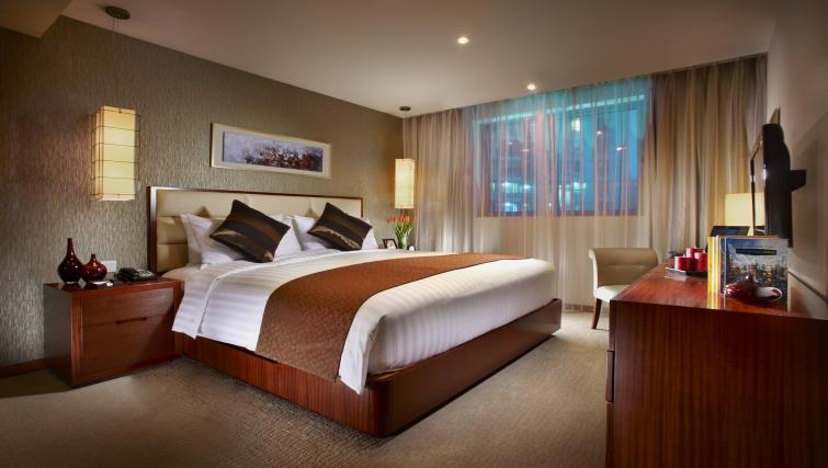 Ideal bedroom at Oakwood Residence Shanghai - Citybase Apartments
