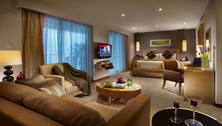 Spacious studio apartment at Oakwood Residence Shanghai - Citybase Apartments