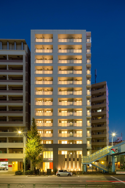 Building at Oakwood Apartments Minami Azabu Apartments - Citybase Apartments