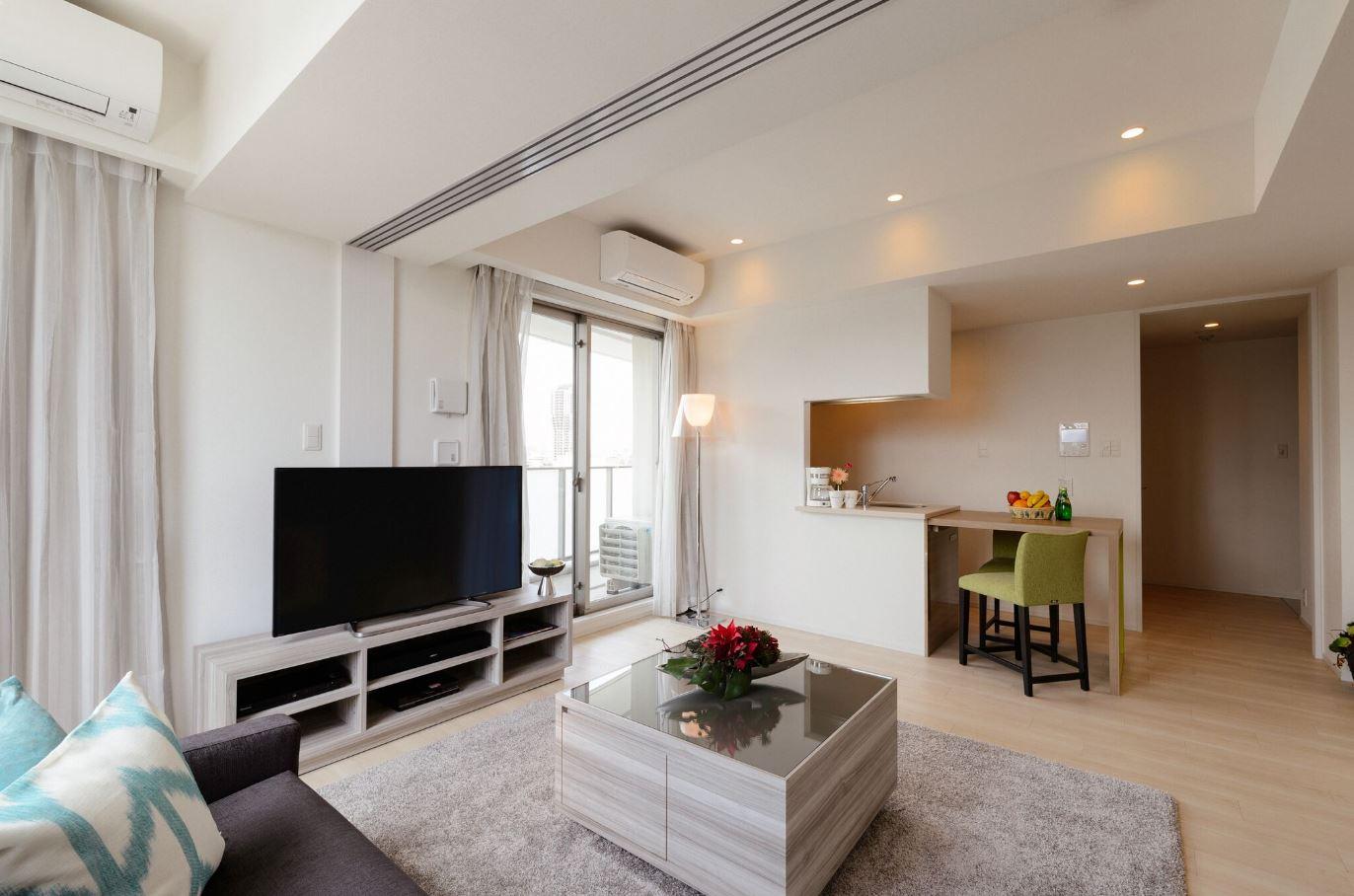 Tv at Oakwood Apartments Minami Azabu - Citybase Apartments