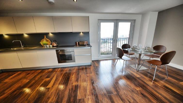 Stunning kitchen area at Apartments at Wilburn - Citybase Apartments