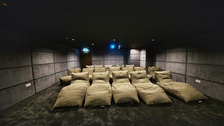 Cinema area at Apartments at Wilburn - Citybase Apartments