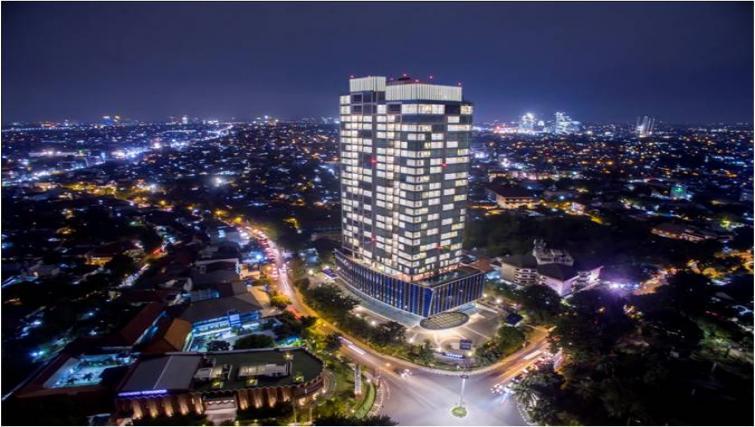 Exterior at Oakwood Apartments La Maison Jakarta - Citybase Apartments