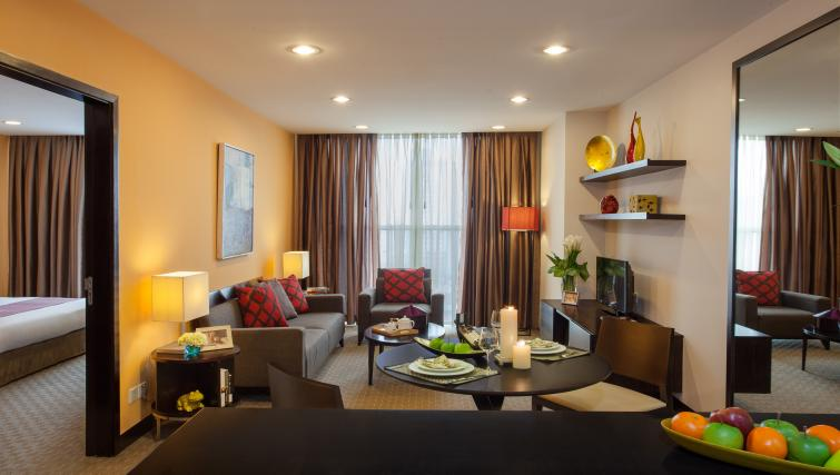 Ideal living area at Somerset Hoa Binh Apartments - Citybase Apartments