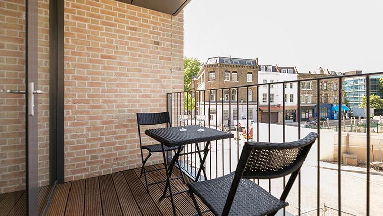 Balcony at Urban Chic Portobello Apartments - Citybase Apartments