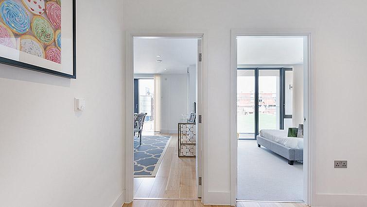 Hallway at Urban Chic Portobello Apartments - Citybase Apartments